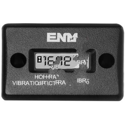 (ENM Company T56F1 , HOUR METER, VIBRATION ACTIVATED, WATERPROOF, RECT SURF MT, 8 YR BATTERY)