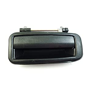 Outside outer Door Handle Rear Right Black 69230-12110 NEW For Toyota Corolla 1988-1992