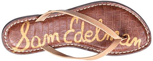 Sam Edelman Women's Gracie Flip-Flop Almond Patent tEI3c0H