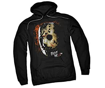 Mask Of Death -- Friday The 13th Adult Hoodie Sweatshirt, XXX-Large