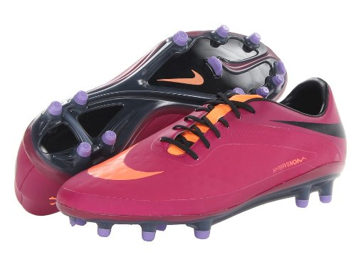 Nike Hypervenom Phatal Fg Nike- Bright Magenta/Black/Atomic Violet/Atomic Orange sneakers