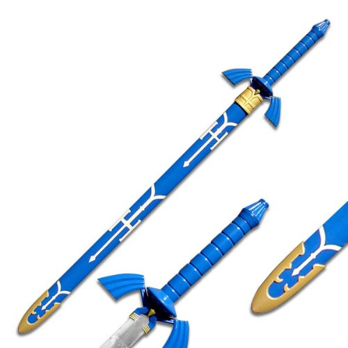 Anime Link's Twilight Princess Master Sword w/ Scabbard (Zelda Legend Swords Of)