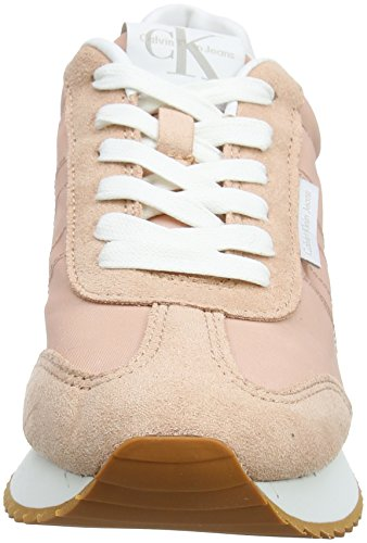 Jeans Sneaker 000 Calvin Dsk Pink Colette Nylon Damen Klein Suede zcqwqv5Y