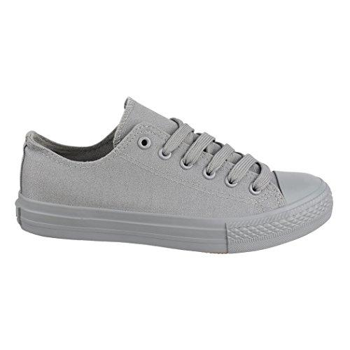Unisex Sportschuhe All Schuhe New Herren Bequeme Elara Grey Turnschuh Sneaker Low Textil Damen und für Top dqtSH1