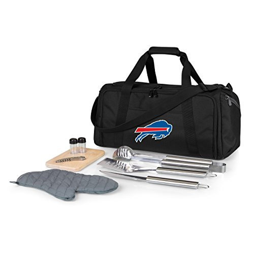 - NFL Buffalo Bills BBQ Kit/Cooler Tote with Barbecue and Picnic Accessories