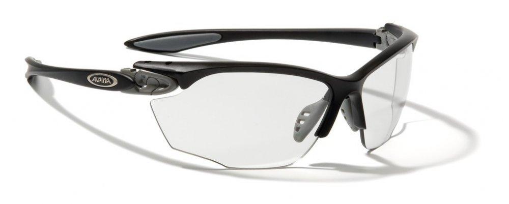 Sonnenbrille Alpina Twist Four VL+ Rahmen sw-grau Glas Varioflex+ schwarz