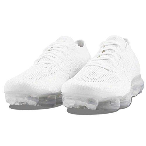 Nike Hombres Air Vapormax Flyknit Black / Anthracite Flyknit White / White-sail-light Bone