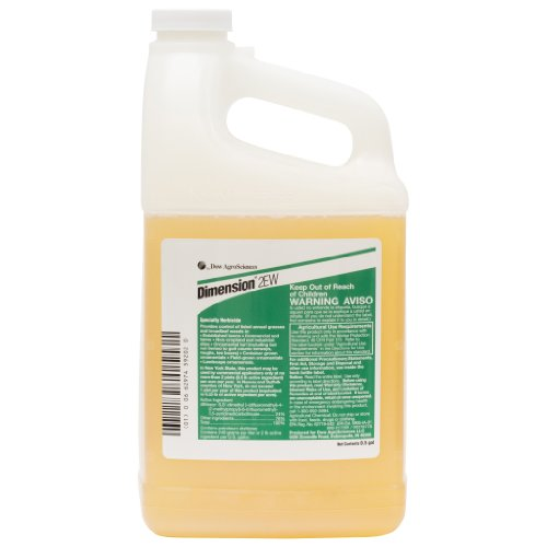 Dimension 2EW Dithiopyr Pre-Emergent Herbicide - 1/2 Gal (The Best Pre Emergent Weed Control)