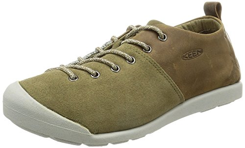 Keen Women's Lower East Side Lace Hiking Shoe, Brown, 9.5 M US Gothic Olive