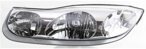 2001-2002 Saturn SC1 SC2 Headlight Lamp Clear lens Halogen Passenger Right Side