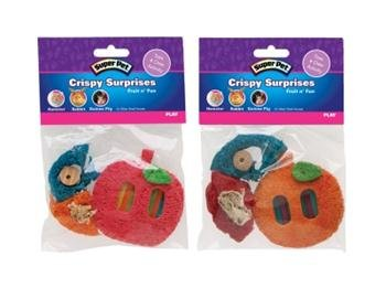 Crispy Surprise Chew Small Animal Toy Style: Fruit ()