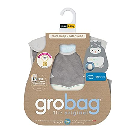 The Gro Company Ollie The Owl Grobag Baby Sleeping Bag 1.0 Tog 18-36 Months