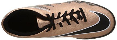 Nike Hypervenom Phade II TF Herren Fußballschuhe Braun / Schwarz / Grün / Weiß (MTLC brnz Rd / Blk-Grn GLW-weiß)