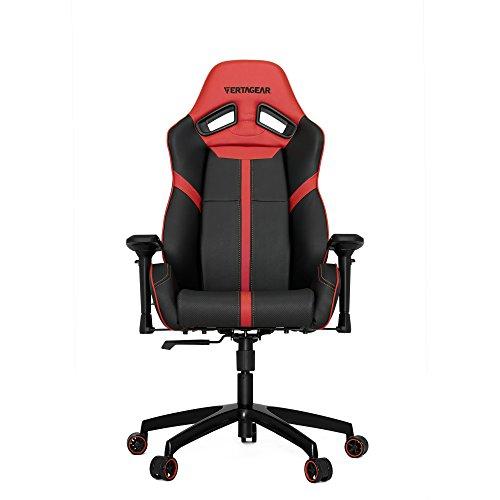 4GamerGear Vertagear S-Line SL5000 Racing Series Gaming Chair (Rev. 2) Oct. 2016 (Black/Red)