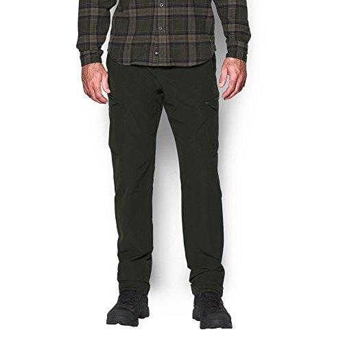 Under Armour Men's Deadload Field Pants, Artillery Green/Black, - Pant Field Snowboarding
