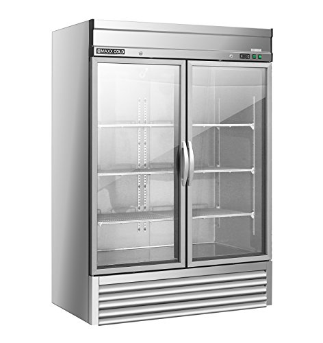 Maxx Cold Mxsf 49fd 2 Two Double Door Reach In Upright