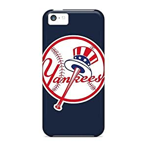 Anti-Scratch Hard Cell-phone Cases For Iphone 5c (sSi820DXDF) Allow Personal Design HD Baseball New York Yankees Series