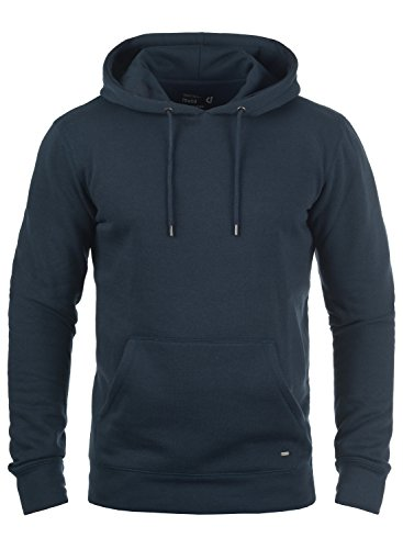 À Homme 1991 Capuche Blue Hoodie Sweat Pour Bert solid Pull Polaire Insignia Doublure 0wHCxESq