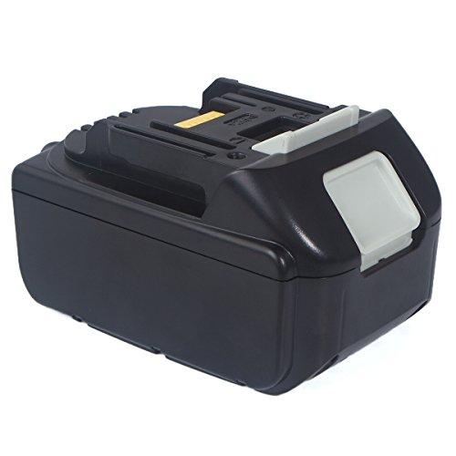 Makita BL1830 Ersatzakku, FLAGPOWER Werkzeug Akku Batterie für Makita BL1830 BL1815 194204-5 194205-3 194309-1 18V 5000mAh Li-ion Akku