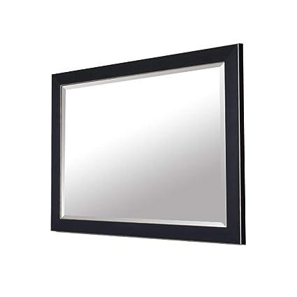 Specchio Bagno Nero.Yanzedian Specchio Bagno Specchio Per Il Trucco Di Bellezza