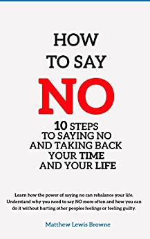 How Say No Saying Taking ebook product image