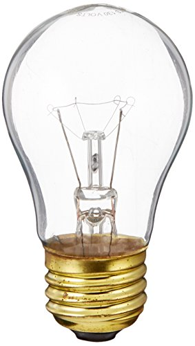 Bulbrite B40A15C 130V 40-Watt Incandescent A15 Appliance Bulb, Clear