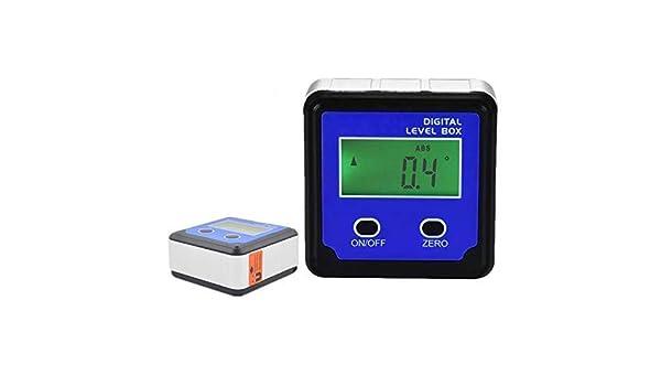 Multifunctional Mini Digital Display Protractor Inclinometer Level Meter Magnet