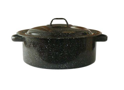 Roaster Pan Enamel (Granite Ware Covered Casserole, 3-Quart)