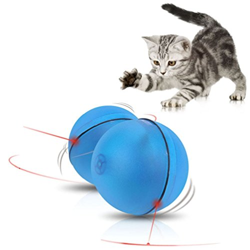 Led Laser Lighting Electronic Rolling Ball Perfect Cat Toy Pet Dogs - Pentagon To Directions