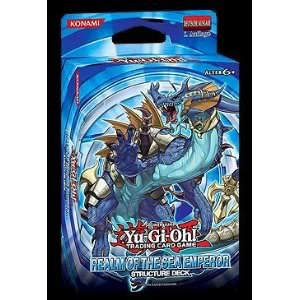 Toy / Game High Quality Yu-Gi-Oh Structure Deck: Realm Of The Sea Emperor (Ocean Themed Deck For Duelists)