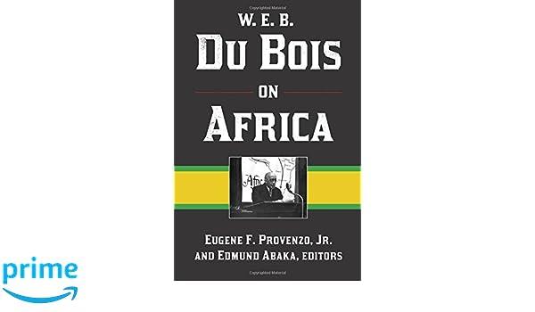 du bois on education provenzo eugene f jr