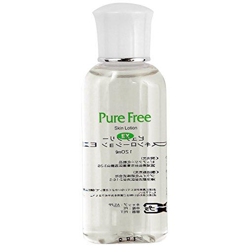 副詞靴内部Pure Free (ピュアフリー) スキンローションEX 正規品 化粧水 保湿用水分 オーガニック