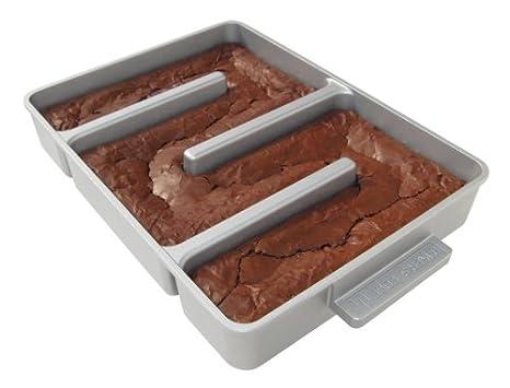 Amazon.com: Bakers Edge bandeja para asar antiadherente ...