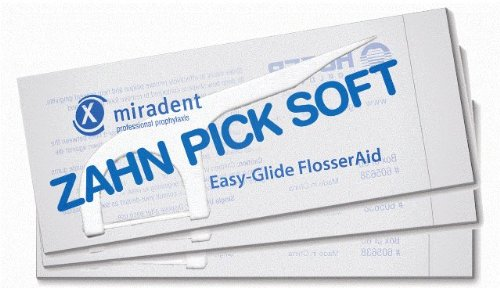 (Zahn Pick Soft: Professional-Grade Indvidually Wrapped Flossers in dispenser box great for homes and businesses (5 packs of)