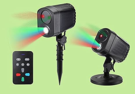 Amazon.com: Proyectores de luz láser estrellado White Laser ...