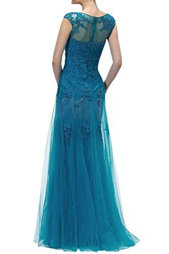 TOSKANA BRAUT - Vestido - Estuche - para mujer Azul Real