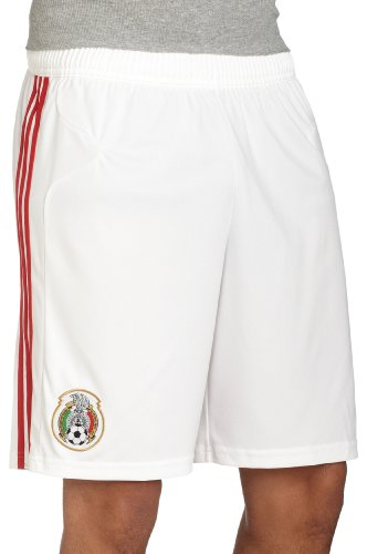 Adidas Mexico Home Short (Mexico Home Short (White, Large))