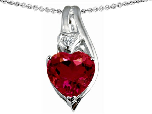 Star-K-Sterling-Silver-Large-10mm-Heart-Shape-Heart-Pendant