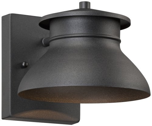 John Timberland Outdoor Lamp - John Timberland Black 5-Inch-H LED Outdoor Wall Light