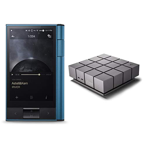 Astell & Kern KANN Portable High-Res Audio Player (Eos Blue) with AK Ripper MKII CD-Ripper