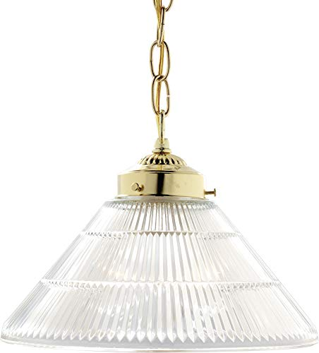 - Nuvo Lighting SF76/255 One Light Pendant, Brass-Polished/Cast