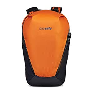 "Pacsafe Venturesafe X18 18L Anti-Theft Adventure Backpack-Fits 13"" Laptop, Burnt Orange, 18 Liter"