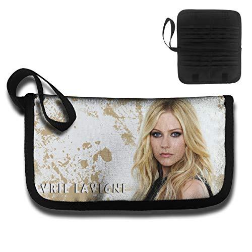 l Lavigne Travel Wallet Passport Holder Document Organizer Zipper Case ()