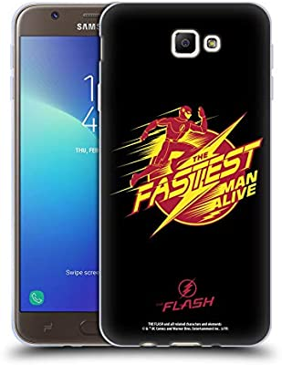 Official The Flash TV Series Barry Fastest Man Alive Graphics Soft Gel Case Compatible for Samsung Galaxy J7 Prime 2 2018: Amazon.es: Electrónica
