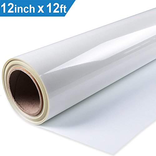 Heat Transfer Vinyl HTV for T-Shirts 12 Inches by 12 Feet Ro