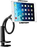 SZXKK スマホスタンド タブレットスタンド アイパッド スタンド タブレット スタンド タブレット アーム ホルダー3.5〜7.5インチ対応 ipad/iPhone/Android などのが対応でき、360度自由に調整できます (ブラック)