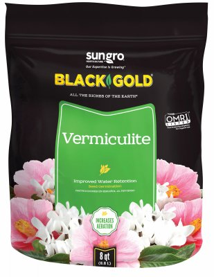 Vermiculite Potting Soil - Black Gold Vermiculite, 8 quart