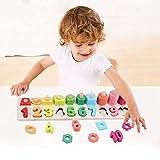 Sendida Montessori Math Shapes Puzzle Toys