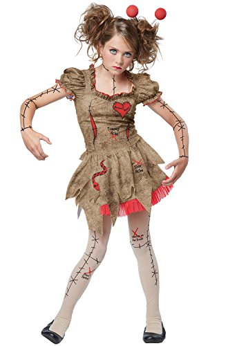 California Costumes Voodoo Dolly Costume, Tan/Red, Large