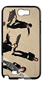 The Killers Samsung Galaxy Note 2 N7100 black case
